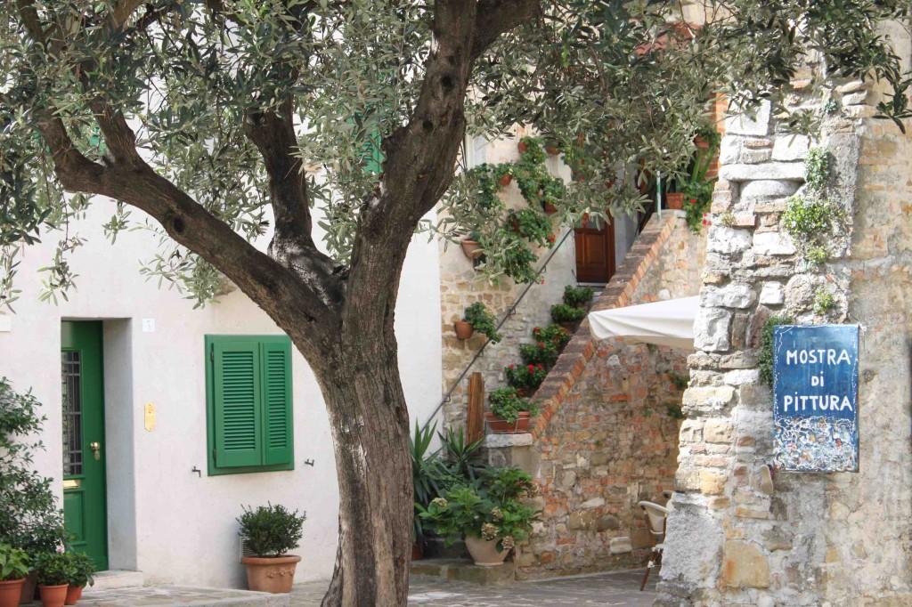 Altstadtromantik im Castrum von Grado