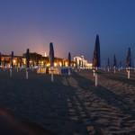 Grado-Costa Azzurra Abenddämmerung