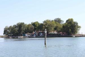 Ai Ciodi in der Lagune von Grado
