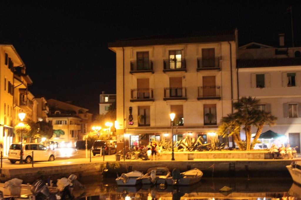 Hafenbar in Grado