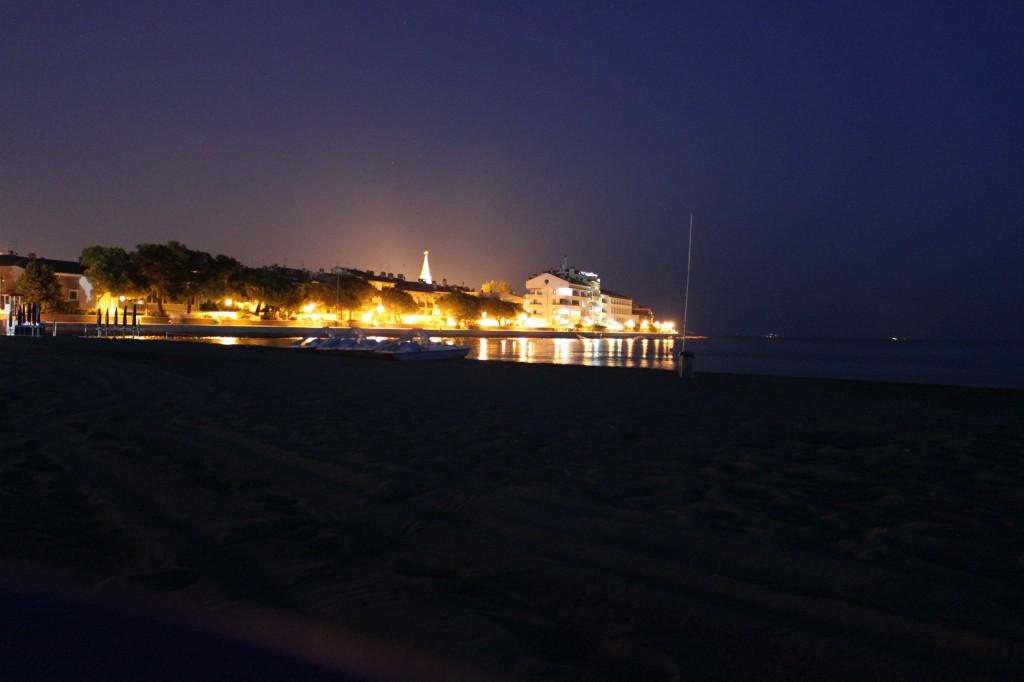 Abends an der Costa Azurra