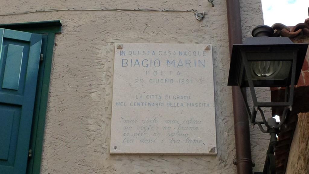 Biagio-Marin-Geburtshaus-Grado_2013-2